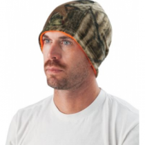 Cabela's Men's Reversible Fleece Beanie - Max 5/Realtreesnow (ONE SIZE FITS MOST)