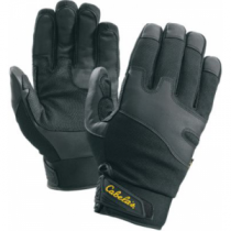 Cabela's Men's Insulated Shooting Gloves with Thinsulate - Black (XL)