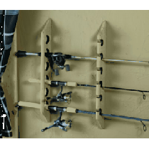 Cabela's Six-Rod Horizontal Rod Rack - Natural