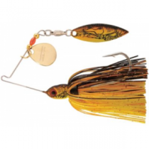 Booyah Pond Magic Real Craw Spinnerbait - Moss
