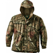 Cabela's Men's Rain Suede Packable Parka with 4MOST DRY-Plus Tall - Mo Break-Up Infinity (MEDIUM)