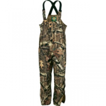 Cabela's Men's Rain Suede Packable Bibs with 4MOST DRY-Plus - Zonz Western 'Camouflage' (SMALL)