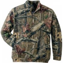 Cabela's Men's 1/4-Zip Pullover with Storm Cotton - Mo Winter Brush (MEDIUM)