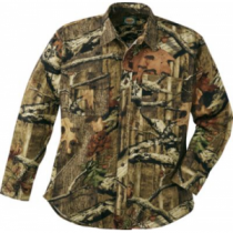 Cabela's Men's Bowhunter's Shirt with Silent Weave Regular - Mossy Oak Country (XL)