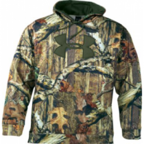 Under Armour Men's Big Logo Camo Hoodie with Armour Fleece - Mo Break-Up Infinity (3XL)