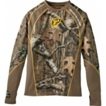 ScentBlocker Men's 1.5 Performance Long-Sleeve Shirt - Realtree Xtra 'Camouflage' (MEDIUM)