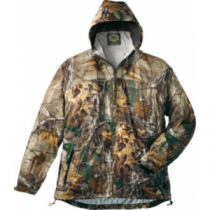 Cabela's Men's Space Rain Full-Zip Jacket with 4MOST DRY-Plus - Outfitter Camo (MEDIUM)
