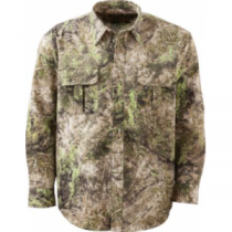 Cabela's Men's ColorPhase Seven-Button Long-Sleeve Shirt with 4MOST Adapt - Zonz Western 'Camouflage' (MEDIUM)