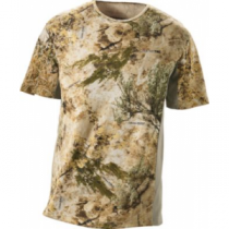 Cabela's Men's Supertec by Medalist Short-Sleeve Top - Zonz Woodlands 'Camouflage' (LARGE)