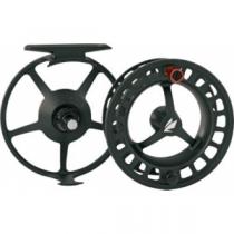 Sage 2200 Fly Reel - Black/Blaze, Black/Platinum