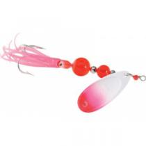 Yakima Bait Flash Glo UV Squid Trolling Spinner - White