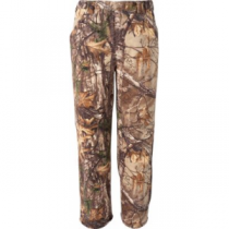 Scent-Lok ScentLok Men's Vortex Windproof Fleece Pants - Realtree Xtra 'Camouflage' (XL)