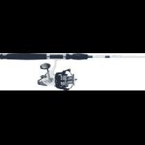 Cabela's Salt Striker SBR-65 Baitfeeder/King Kat Spinning Combo - Natural