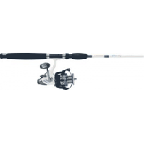 Cabela's Salt Striker SBF-40 Baitfeeder/King Kat Spinning Combo - Natural