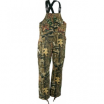 Cabela's Silent Weave Insulated Bibs Regular - Zonz Woodlands 'Camouflage' (MEDIUM)