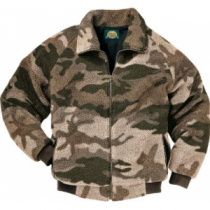 Cabela's Men's Outfitter's Berber Fleece Series Jacket with 4MOST Windshear Tall - Outfitter Camo (XL)