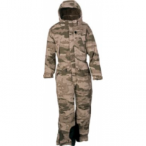 Cabela's Stand Hunter Extreme Insulated Coveralls - Zonz Woodlands 'Camouflage' (2XL)
