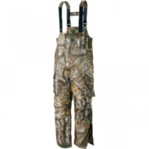 Cabela's Dry-Plus Silent-Suede Bibs Regular - Zonz Woodlands 'Camouflage' (LARGE)