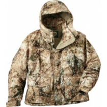 Cabela's Men's Silent-Suede Jacket with 4MOST DRY-Plus Regular - Zonz Woodlands 'Camouflage' (LARGE)