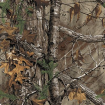 Cabela's Men's Silent Suede Parka with 4MOST DRY-Plus Regular - Zonz Woodlands 'Camouflage' (LARGE)