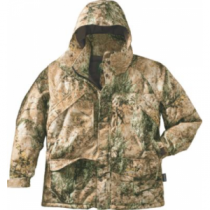 Cabela's Men's Silent-Suede Parka with 4MOST DRY-Plus Tall - Zonz Woodlands 'Camouflage' (XL)