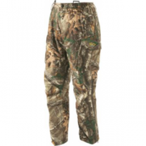 Cabela's Men's Silent Suede Pants with 4MOST DRY-Plus - Zonz Woodlands 'Camouflage' (W36)