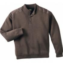 Cabela's Men's Over/Under Fatigue Sweater with 4MOST Windshear - Dark Mushroom (MEDIUM)