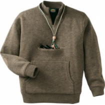 Cabela's Men's Waterfowler Sweater with 4MOST Windshear - Outfitter Brown (LARGE)