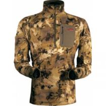 SITKA Men's Traverse Zip Tee - Optifade Marsh 'Camouflage' (MEDIUM)