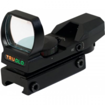 Truglo Multireticle/Dual-Color Open-Dot Sight - Red