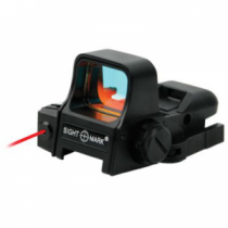 Sightmark Ultra Dual Shot Reflex Sight with Laser and Quick-Detach Mount (ULTRA DUAL W)