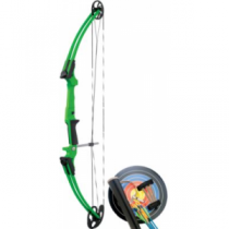 Genesis Colored Compound-Bow Kit - Red