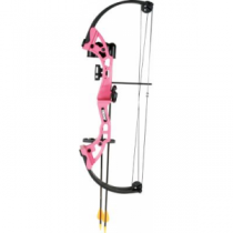 Bear Archery Youth Brave Compound Bow Package Pink