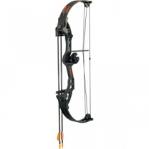 Bear Archery Youth Brave Black Compound-Bow Package