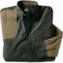 Cabela's Youth Shooting Shirt - Tundra/Maple 'Olive Green' (XL)