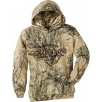 Cabela's Youth Camo Hoodie - Seclusion 3-D (XL)