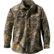 Cabela's Youth Silent Weave 7-Button Shirt - Zonz Western 'Camouflage' (16)