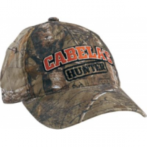 Cabela's Youth Hunter Camo Cap - Realtree Xtra 'Camouflage' (ONE SIZE FITS MOST)