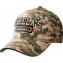 Cabela's Youth Outfitter Camo Cap - Army Digital (ONE SIZE FITS MOST)