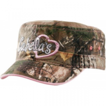 Cabela's Girls' Military Camo Cap - Realtree Xtra 'Camouflage' (ONE SIZE FITS MOST)