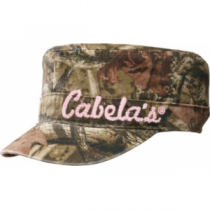 Cabela's Girls' Blur Logo Camo Cap - Mo Break-Up Infinity (ONE SIZE FITS MOST)
