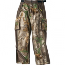 A.G.O. Youth Softshell Pants - Realtree Xtra 'Camouflage' (XL)
