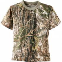 Cabela's Youth ColorPhase Short-Sleeve Tee Shirt with 4MOST Adapt - Zonz Woodlands 'Camouflage' (MEDIUM)