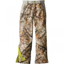Cabela's Youth Hunter Soft-Shell Pants with 4MOST Windshear - Zonz Woodlands 'Camouflage' (MEDIUM)