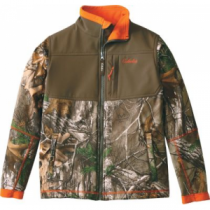 Cabela's Youth Hunter Lightweight Jacket - Zonz Woodlands 'Camouflage' (SMALL)