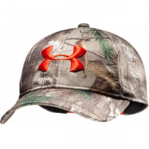 Under Armour Youth Cascade Cap - Xtra/Dynamite (ONE SIZE FITS MOST)