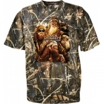 Duck Dynasty Youth Duck Dynasty Group Short-Sleeve Tee Shirt - Max 4 'Camouflage' (XL)