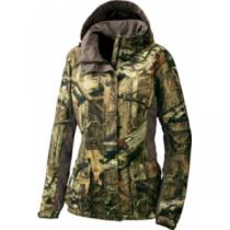 Cabela's Women's OutfitHER Rainwear Jacket - Mo Break-Up Infinity (XL)