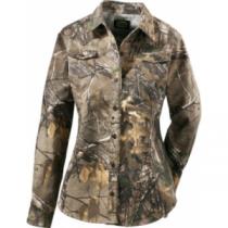 Cabela's Women's Silent Weave Seven-Button Shirt - Realtree Ap Hd 'Camouflage' (XS)