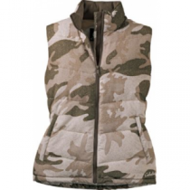 Cabela's Women's Synthetic Down Vest - Outfitter Camo (MEDIUM)